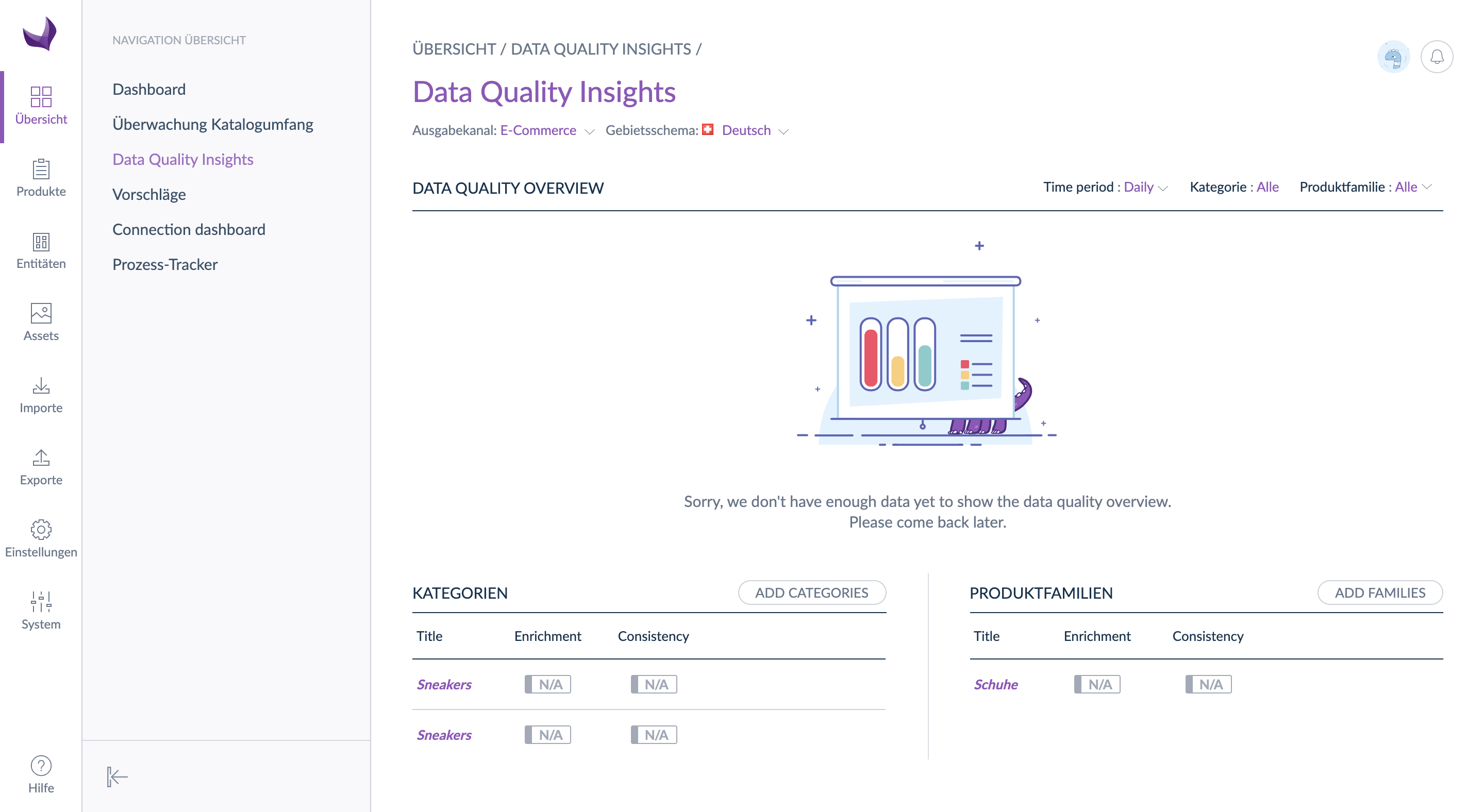 Dashboard Data Quality Insights